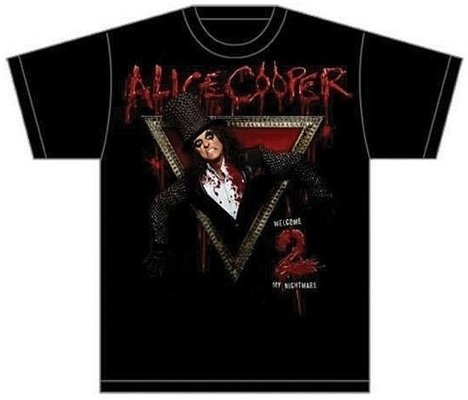 Alice Cooper Unisex Tee: Welcome to my Nightmare M