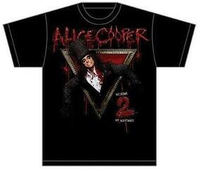 Alice Cooper Unisex Tee Welcome to my Nightmare Black