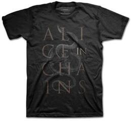 Alice in Chains Unisex Tee Snakes M