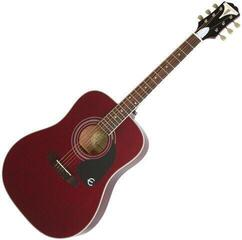 Epiphone PRO-1 Plus Acoustic Wine Red/Oferta standardowa