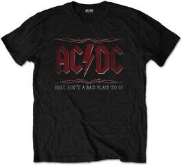 AC/DC Unisex Tee Hell Ain't A Bad Place Black