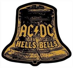 Rock Off AC/DC Standard Patch Hells Bells Cut Out (Loose)