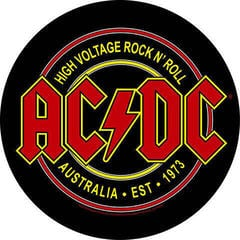 Rock Off AC/DC Back Patch High Voltage Rock N Roll