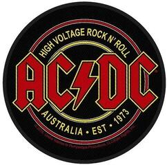 Rock Off AC/DC Standard Patch High Voltage Rock N Roll (Loose)
