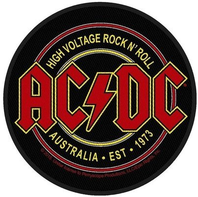 AC/DC Standard Patch High Voltage Rock N Roll (Loose)