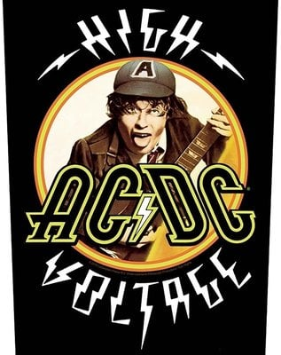 AC/DC Back Patch High Voltage