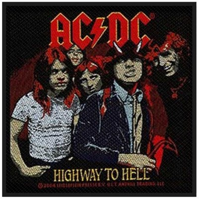 AC/DC Standard Patch Highway to Hell (Loose)