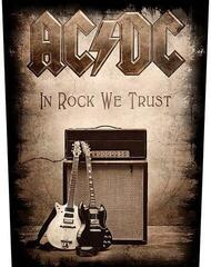 Rock Off AC/DC Back Patch In Rock We Trust