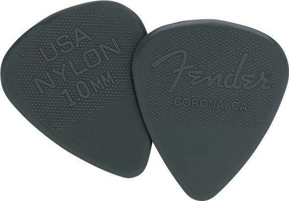 Fender 351 Shape Nylon Picks 1.00 mm Charcoal 12 Pack