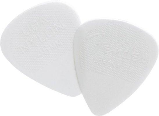 Fender 351 Shape Nylon Picks .46 mm White 12 Pack