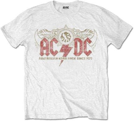 AC/DC Unisex Tee Oz Rock White XXL