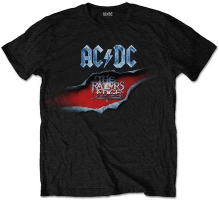 AC/DC Unisex Tee The Razors Edge M