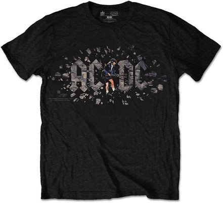 AC/DC Unisex Tee Those About To Rock M