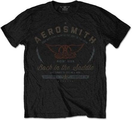 Aerosmith Unisex Tee Back in the Saddle L