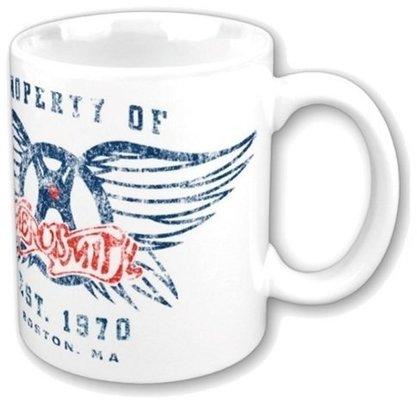 Aerosmith Boxed Standard Mug Property of Logo