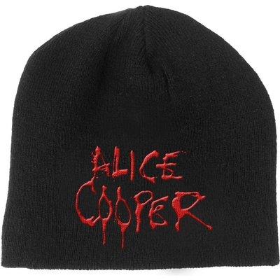 Alice Cooper Unisex Beanie Hat: Dripping Logo