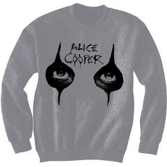 Alice Cooper Unisex Sweatshirt Eyes Grey