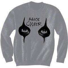 Alice Cooper Unisex Sweatshirt Eyes Grey
