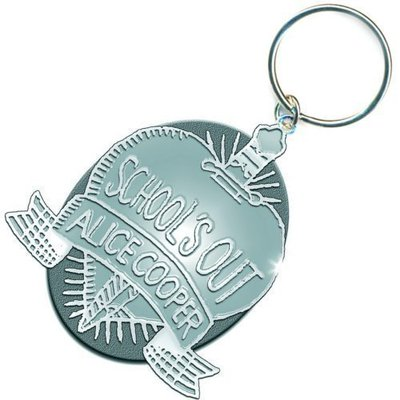 Alice Cooper Standard Keychain: School's Out