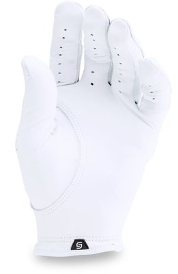 Under Armour Spieth Tour Mens Golf Glove White Left Hand for Right Handed Golfers S