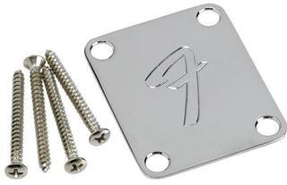 Fender 4-Bolt ´70S Vintage Style F Logo Neck Plate