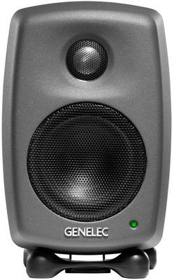 Genelec 8010A Bi-Amplified Monitor System Anthracite
