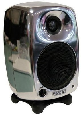 Genelec 8040B Bi-Amplified Monitor System Polished Aluminium