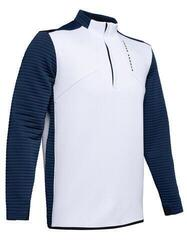 Under Armour Storm Daytona 1/2 Zip Mens Sweater Moonstone Blue