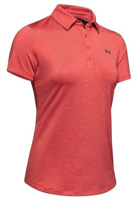 Under Armour Zinger Short Sleeve Womens Polo Shirt Daiquiri XS