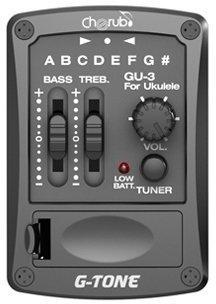 Cherub GU-3 Ukulele EQ Preamp System