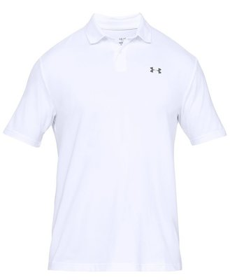 Under Armour UA Performance Mens Polo Shirt White L