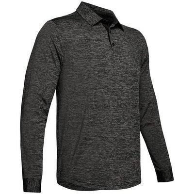 Under Armour UA Long Sleeve Playoff 2.0 Mens Polo Shirt Black S