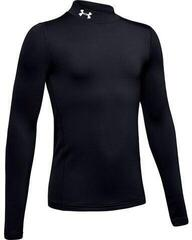 Under Armour ColdGear Armour Mock Junior Base Layer Black