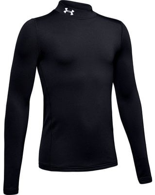 Under Armour ColdGear Armour Mock Junior Base Layer Black L