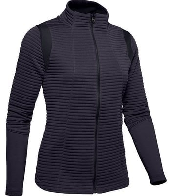 Under Armour Storm Daytona Full Zip Womens Jacket Nocturne Purple XS