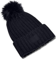 Under Armour Snowcrest Pom Beanie Black