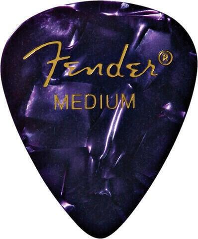 Fender 351 Shape Premium Picks Purple Moto Medium