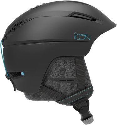 Salomon Icon2 Ski Helmet Black S 19/20