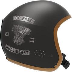Salomon S Race FIS Ski Helmet Café Racer