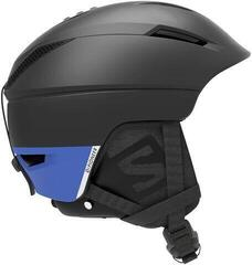 Salomon Pioneer C.Air Ski Helmet Black/Race Blue