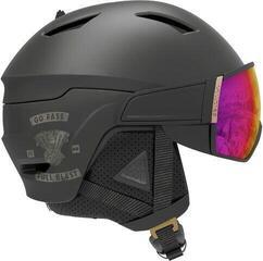 Salomon Driver Ski Helmet Café Racer