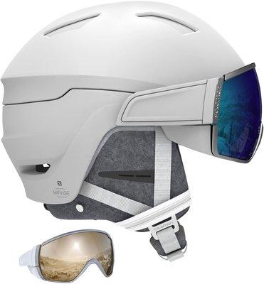 Salomon Mirage Plus Ski Helmet White S 19/20