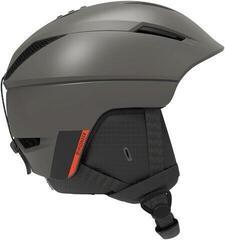 Salomon Pioneer Ski Helmet Beluga/Neon Red