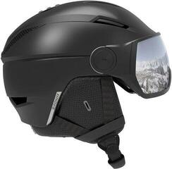 Salomon Pioneer Visor Ski Helmet Black