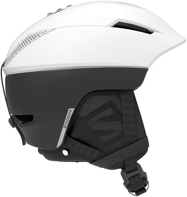 Salomon Pioneer C.Air Ski Helmet White/Black L 19/20
