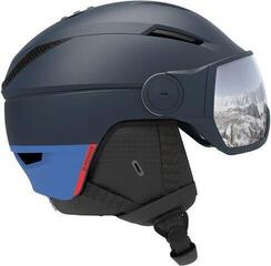 Salomon Pioneer Visor Ski Helmet Dress Blue