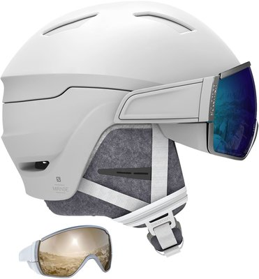 Salomon Mirage Ski Helmet White M 19/20