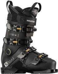 Salomon S/MAX 110 W Black/Gold Glow