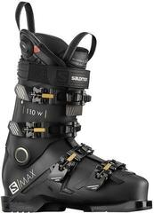 Salomon S/MAX 110 W CHC Black/Gold Glow