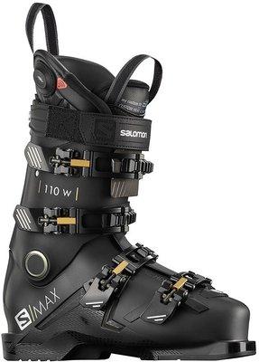 Salomon S/MAX 110 W CHC Black/Gold Glow 25/25,5 19/20